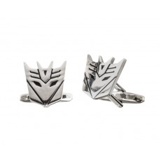 19. Men's Cufflinks 'Decepticon', Gift Boxed