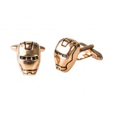 06. Men's Cufflinks 'Ironman', Gift Boxed