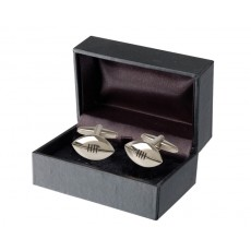 07. Men's Cufflinks Rugby, Gift Boxed