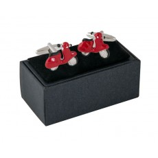 13. Mens Cufflinks Scooter, Gift Boxed