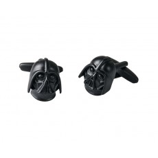 04. Mens Cufflinks 'Darth Vader', Gift Boxed