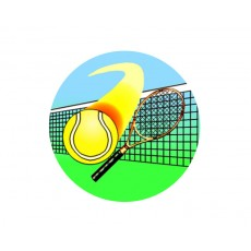 Tennis Acrylic Button