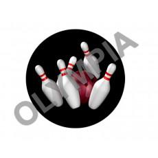 Tenpin Bowling Acrylic Button
