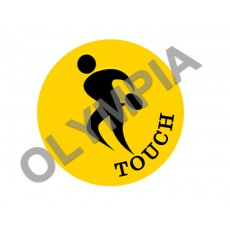 Touch Football Acrylic Button