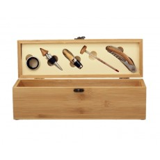 01. Bamboo Wine Gift Box with Tools