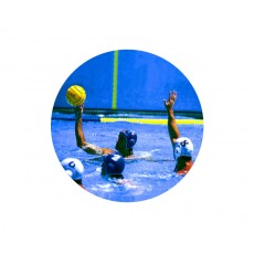 Water Polo Acrylic Button