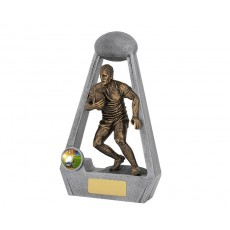 Bling Series Rugby Resin Trophy