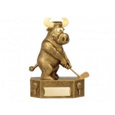Golf Prize Bull