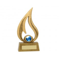 Gold Flame Resin Award