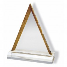 Acrylic , Golden Pyramid