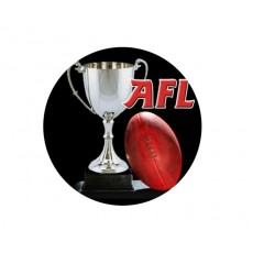 AFL - Aussie Rules Acrylic Button
