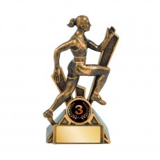 Athletics / Track Female Runner Trophy