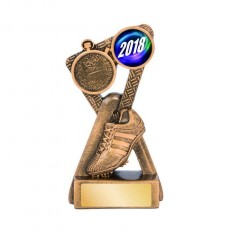 Athletics / Track Shoe Emblem Trophy