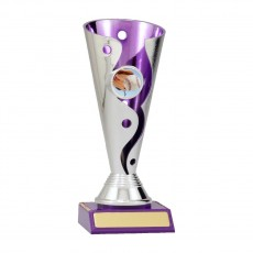 Baseball / Softball Carnival Cup Trophy Purple