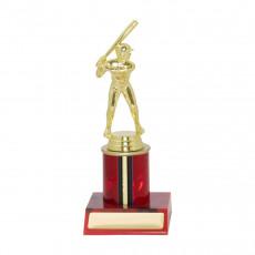 Baseball / Softball Red Column Trophy