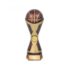 Basketball Gold & Bronze Trophy