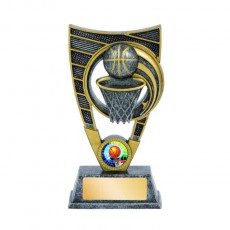 Basketball Gold & Silver Theme Trophy