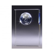 Blue Globe Crystal Award