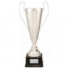 Silver Vaso Prestige Metal Presentation Cup on Base
