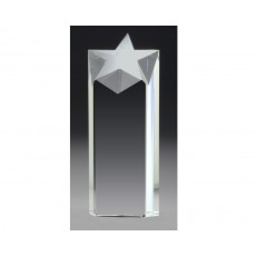 Focus Star Clear Crystal Award