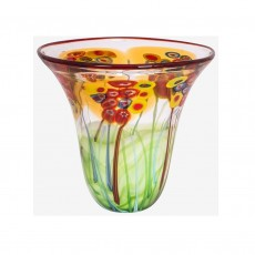 Coloured Glass Bowl Eden
