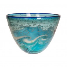 Coloured Glass Bowl La Mer