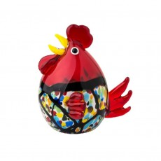 Coloured Glass Chook Memphis