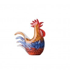 Coloured Glass Chook