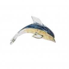 Coloured Glass Dolphin DOFI