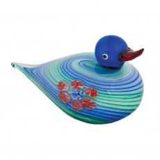 Coloured Glass Duck