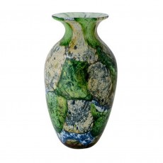Coloured Glass Vase Ebru