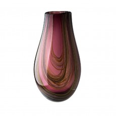 Coloured Glass Vase Ethereal
