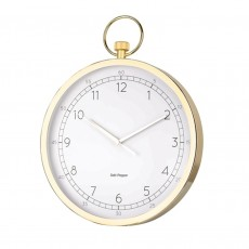 S&P 'Zone' Gold Stop Watch Wall Clock