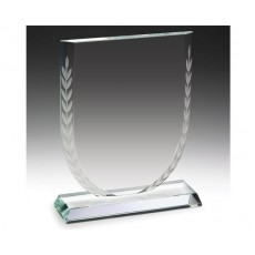 Athens Shield Clear Glass Award