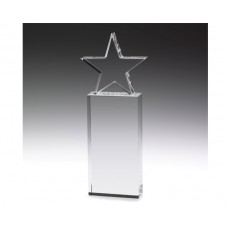 Crystal Star on Pillar Award
