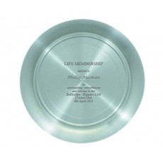 Pewter Tray - Sample Engraving