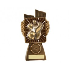 Football / Soccer 'Lynx' Resin Trophy