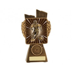 Football / Soccer 'Male Lynx' Resin Trophy
