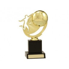 Football / Soccer 'Kick the Ball' Trophy