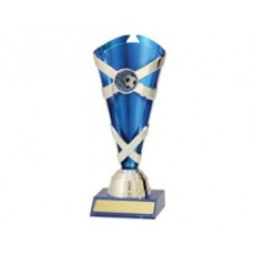 Football / Soccer 'Spectrum Cups' Trophy (Blue)