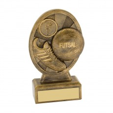 Futsal Gold Resin Trophy