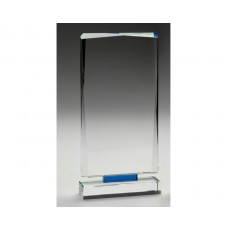 "Blue ""Mirage' Clear Glass"
