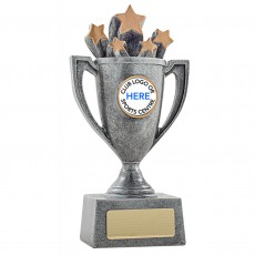 Antique & Gold Star Resin Cup Trophy