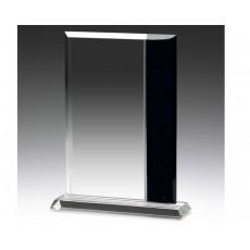 Broadway Black & Clear Glass Award