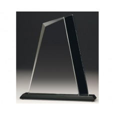 Clear & Black Peak Glass