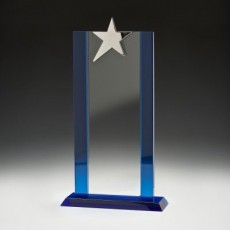 Blue Star Tower Glass Award