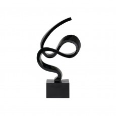 Statuette Ribbon Black