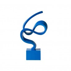Ribbon Blue Statuette