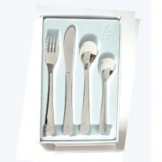 4 Piece Duck Design Stainless Steel Cutlery Set