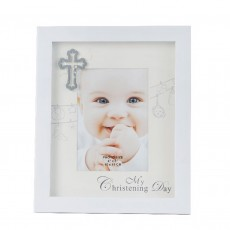 "Divine, My Christening Day 4X6"" Frame"